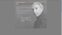 Website Leo Vroman Foundation
