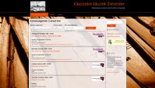 website Klassieke Muziek Deventer